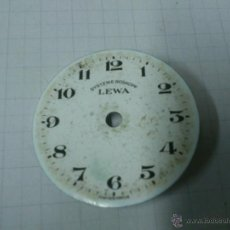 Recambios de relojes: ESFERA RELOJ DE BOLSILLO SYSTEME ROSKOPF LEWA DE 32 MM. DE DIAMETRO. Lote 40727156