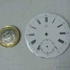 Recambios de relojes: ESFERA RELOJ DE BOLSILLO OMEGA DE 43,5 MM. DE DIAMETRO. Lote 40727378