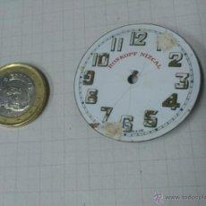 Recambios de relojes: ESFERA RELOJ DE BOLSILLO ROSKOPF NIZCAL DE 41 MM.DE DIAMETRO. Lote 40727962