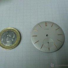 Recambios de relojes: ESFERA RELOJ DE CUERDA TITAN DE 33,5 MM.DE DIAMETRO. Lote 40729792