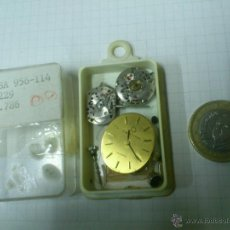 Recambios de relojes: MAQUINARIA, DESGUACE - DESPIECE RELOJ - RELOJES SEÑORA CYMA, DUWARD Y CERTINA. ESA 956-114 1229 1786. Lote 40757147