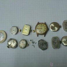 Recambios de relojes: LOTE MAQUINARIAS RELOJ DE PULSERA DE SEÑORA. Lote 40761871