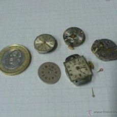 Recambios de relojes: LOTE MAQUINARIAS RELOJ DE PULSERA DE SEÑORA. Lote 40764976