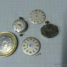Recambios de relojes: LOTE MAQUINARIAS RELOJ DE PULSERA DE SEÑORA. Lote 40765076