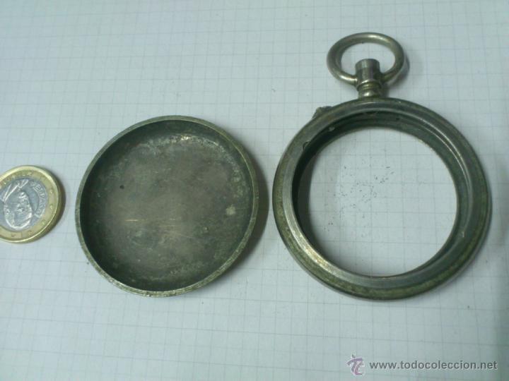 Recambios de relojes: CAJA RELOJ DE BOLSILLO TRIUNFO. UNA TAPA - Foto 2 - 40767738