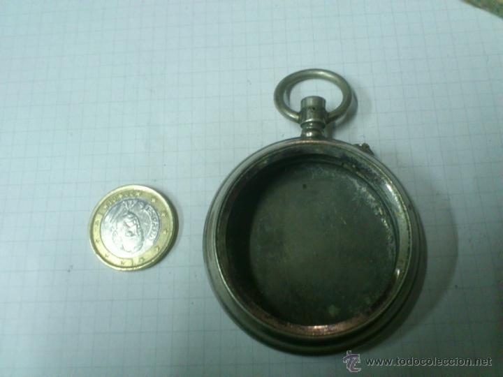 Recambios de relojes: CAJA RELOJ DE BOLSILLO TRIUNFO. UNA TAPA - Foto 3 - 40767738