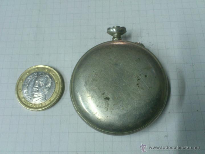 Recambios de relojes: CAJA RELOJ DE BOLSILLO. UNA TAPA - Foto 2 - 40767985