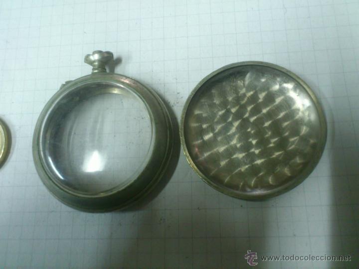 Recambios de relojes: CAJA RELOJ DE BOLSILLO. UNA TAPA - Foto 3 - 40767985