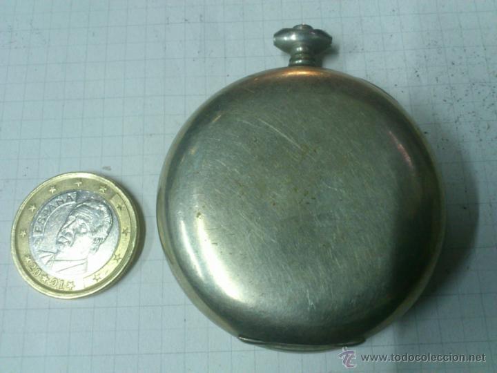 Recambios de relojes: CAJA RELOJ DE BOLSILLO. UNA TAPA - Foto 2 - 40768959