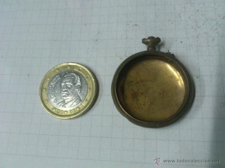 CAJA RELOJ DE BOLSILLO. UNA TAPA (Relojes - Recambios)
