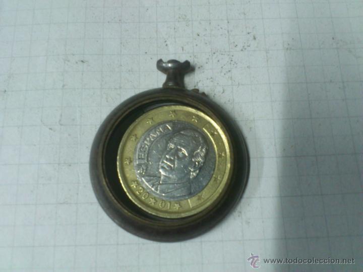 CAJA RELOJ DE BOLSILLO DE HIERRO. SIN TAPA (Relojes - Recambios)