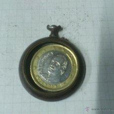Recambios de relojes: CAJA RELOJ DE BOLSILLO DE HIERRO. SIN TAPA. Lote 40769301