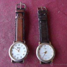 Recambios de relojes: 2 RELOJES DE PILAS,FUNCIONAN.. Lote 41274896