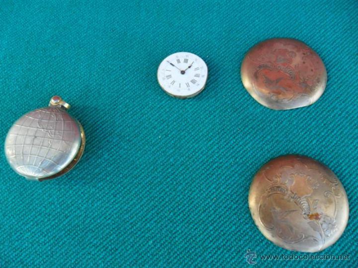 PIEZAS RELOJ DE BOLSILLO (Relojes - Recambios)