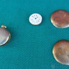 Recambios de relojes: PIEZAS RELOJ DE BOLSILLO. Lote 41740319