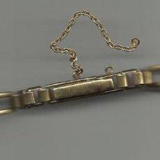 Peças de reposição de relógios: ANTIGUA CADENA DE RELOJ DE SEÑORA DORADA . Lote 42048314