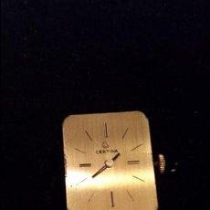 Recambios de relojes: MAQUINARIA CERTINA FUNCIONA. Lote 42236859