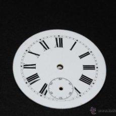 Recambios de relojes: ESFERA RELOJ DE BOLSILLO EN PORCELANA. Lote 42420891