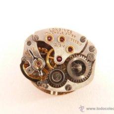 Recambios de relojes: MECANISMO A CUERDA PARA RELOJ LONGINES. Lote 42751231