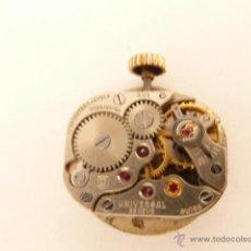 Recambios de relojes: MECANISMO A CUERDA PARA RELOJ UNIVERSAL GENEVE. Lote 42751563