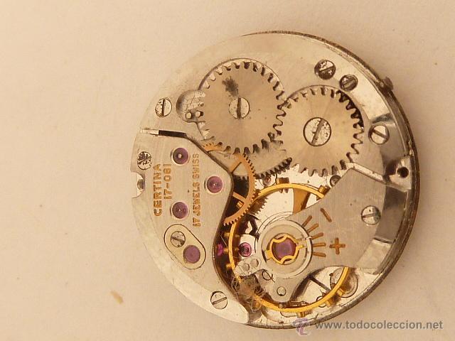 Mecanismo a cuerda para reloj certina comprar - Mecanismo reloj pared ...