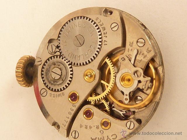 Mecanismo a cuerda para reloj cyma comprar recambios de - Mecanismo reloj pared ...