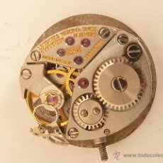 Recambios de relojes: MECANISMO A CUERDA PARA RELOJ LONGINES. Lote 42983727