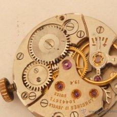 Recambios de relojes: MECANISMO A CUERDA PARA RELOJ LONGINES. Lote 42983922