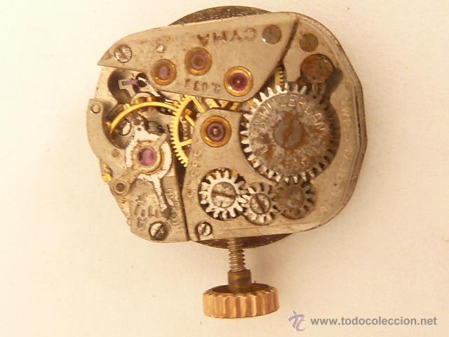 MECANISMO A CUERDA PARA RELOJ DE SEÑORA CYMA (Relojes - Recambios)