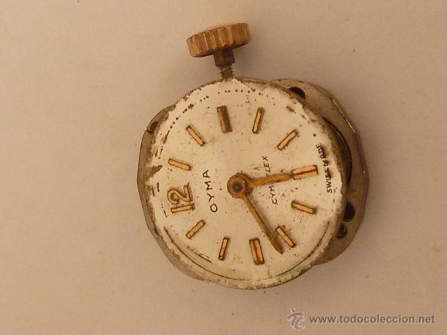 Recambios de relojes: MECANISMO A CUERDA PARA RELOJ DE SEÑORA CYMA - Foto 2 - 42984074