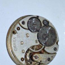 Recambios de relojes: MÁQUINA Y ESFERA DE RELOJ DE BOLSILLO OMEGA - AÑO 1915 - NUMERADA Y SELLADA. Lote 43184741
