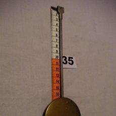 Recambios de relojes: ANTIGUO PENDULO DE RELOJ EN PERFECTO ESTADO. Lote 43557235