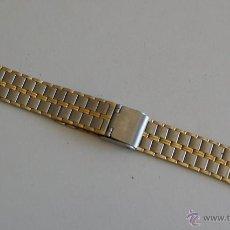 Recambios de relojes: ARMIS ACERO DORADO. Lote 43685749