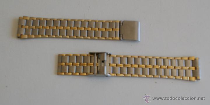 Recambios de relojes: ARMIS ACERO DORADO - Foto 2 - 43685749