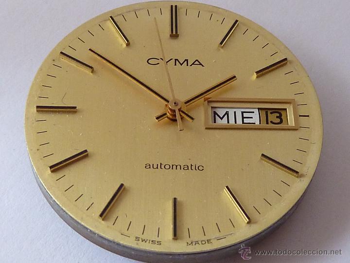 Mecanismo para reloj automatico cyma comprar recambios - Mecanismo reloj pared ...
