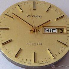Recambios de relojes: MECANISMO PARA RELOJ AUTOMATICO CYMA. Lote 43779282