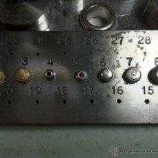 Recambios de relojes: CORONAS ROLEX ACERO ORIGINALES. GENUINE STEEL CROWN ROLEX. Lote 43791930