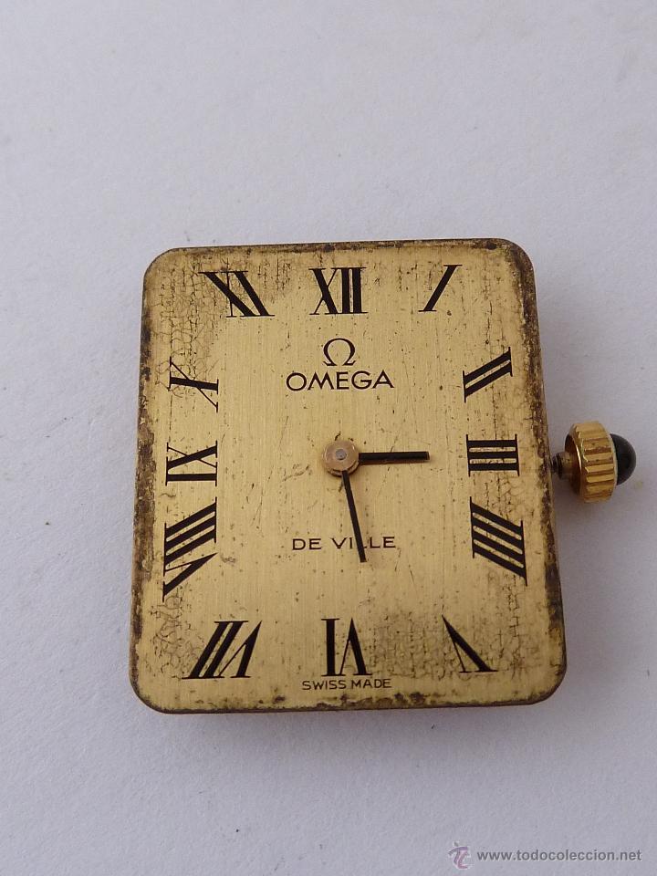 MECANISMO PARA RELOJ A CUERDA, OMEGA (Relojes - Recambios)