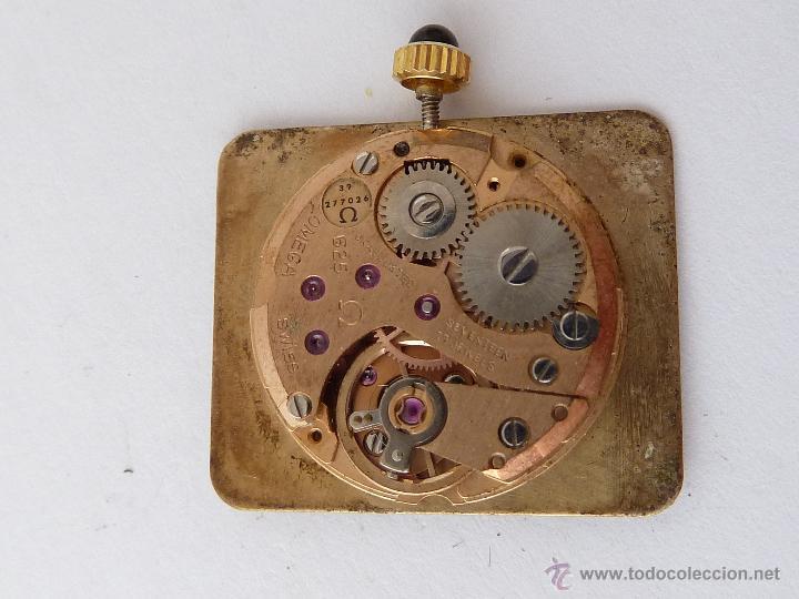 Recambios de relojes: MECANISMO PARA RELOJ A CUERDA, OMEGA - Foto 2 - 43801173