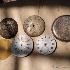 Recambios de relojes: RELOJ DE BOLSILLO RESTOS DE RELOJ. Lote 44048037