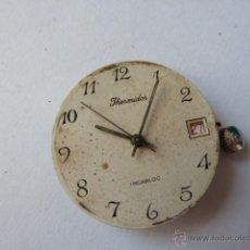 Recambios de relojes: MECANISMO PARA RELOJ THERMIDOR. Lote 44081603