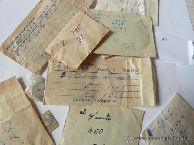 Recambios de relojes: RECAMBIOS PARA TALLER DE RELOJERO - Foto 5 - 44264904