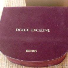 Recambios de relojes: SEIKO EXCELINE CAJA ORIGINAL PARA RELOJ, USADA. Lote 44279168