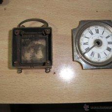 Recambios de relojes: ESFERA Y CAJA DE RELOJ DESPERTADOR ANTIGUO AÑO 1900-10- N1 1. Lote 44463167