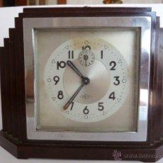 Recambios de relojes: RELOJ DESPERTADOR A CUERDA AÑOS 30 ESTILO ART DECO DEP. Lote 44685224