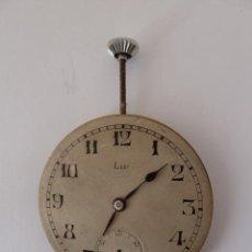 Recambios de relojes: MECANISMO PARA RELOJ DE BOLSILLO LIP. DIAMETRO 41 MM.. Lote 45045874