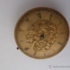 Recambios de relojes: MECANISMO PARA RELOJ DE BOLSILLO, LONGINES BAUME, DIAMETRO 32´3MM. Lote 45047028