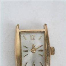 Recambios de relojes: CAJA DE RELOJ DE PULSERA CAUNY PRIMA - MANUAL. PIEZAS O RESTAURACIÓN - CHAPADO ORO - CAJA 20 X 17 MM. Lote 45148918