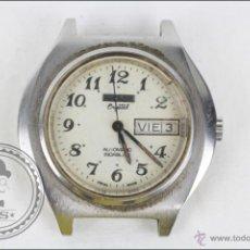 Recambios de relojes: CAJA DE RELOJ DE PULSERA THERMIDOR. CRYSTAL - MANUAL. PIEZAS O RESTAURACIÓN - CAJA 40 X 35 MM. Lote 45149152