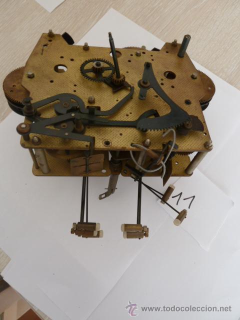 Mecanismo para reloj de pared carrillon con 8 d comprar - Mecanismo reloj pared ...